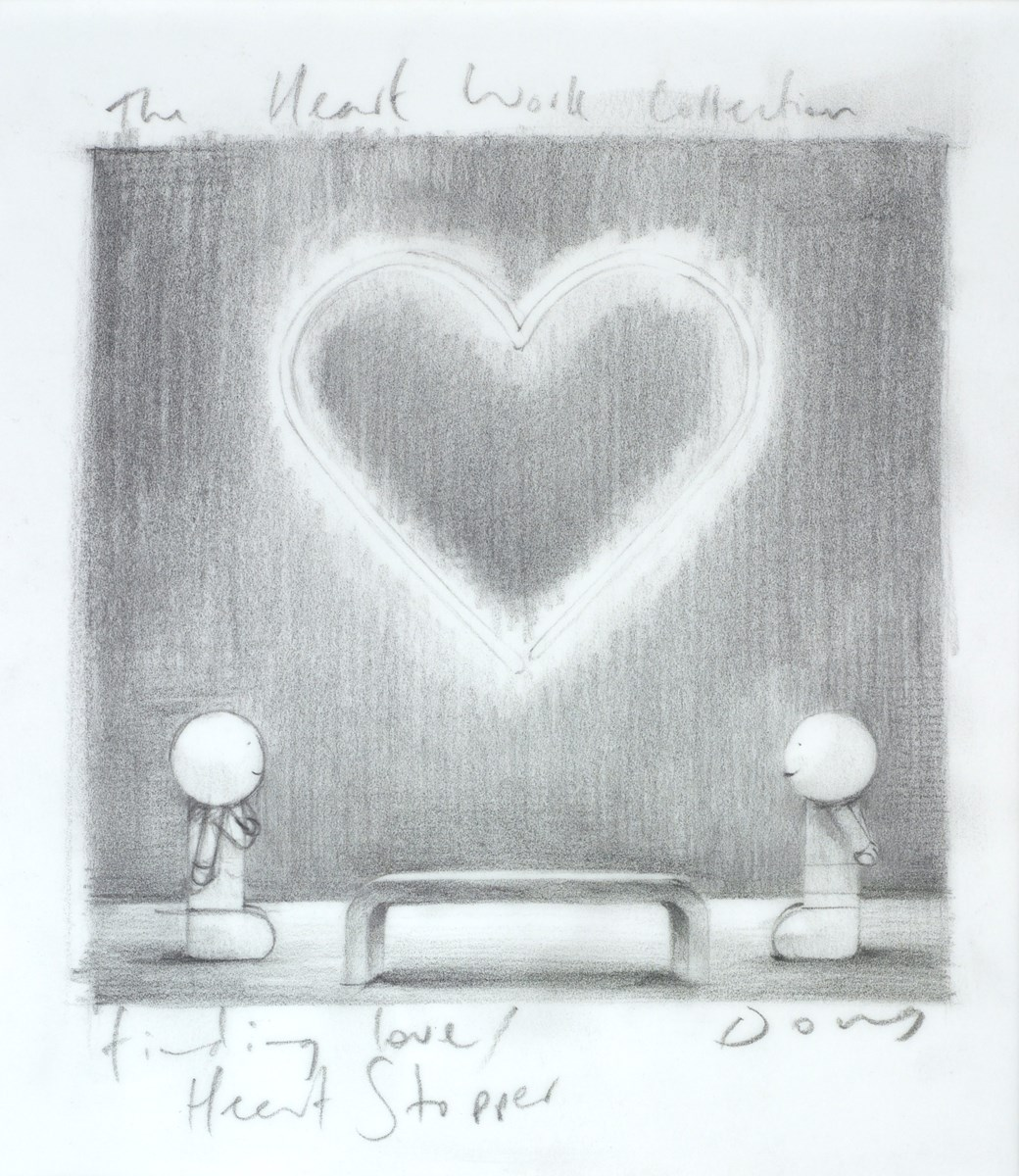 Heart Stopper (Study) by doug hyde -  sized 7x8 inches. Available from Whitewall Galleries